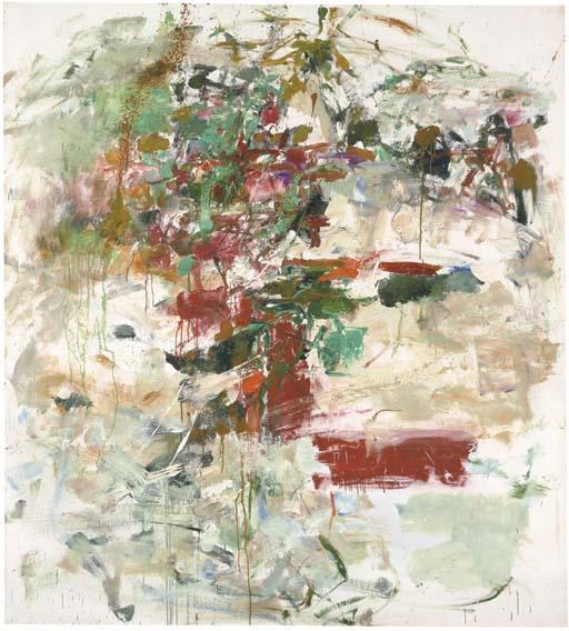 Joan Mitchell-Degel-1962