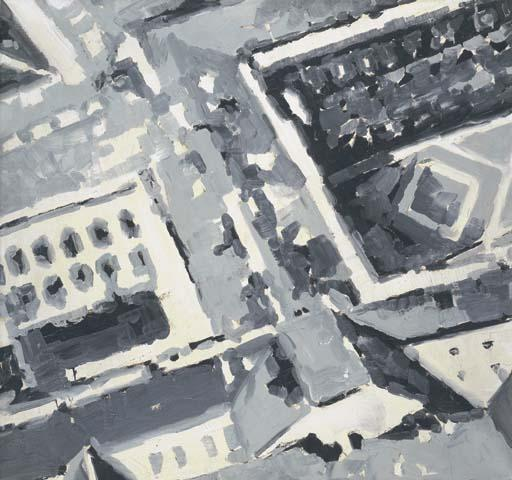 Gerhard Richter-Stadtbild M1 (Townscape M1)-1968
