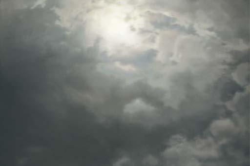 Gerhard Richter-Wolken (Stimmung)-1970