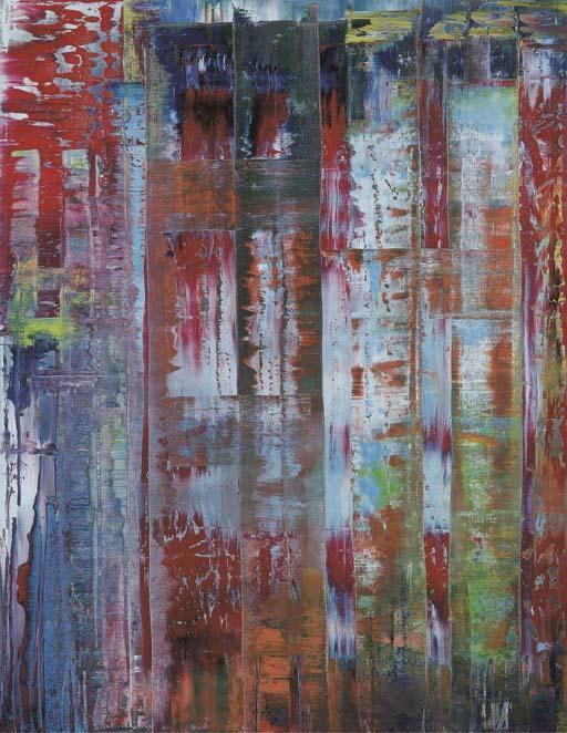 Gerhard Richter-Abstraktes Bild 780-4 (Abstract Painting 780-4)-1992