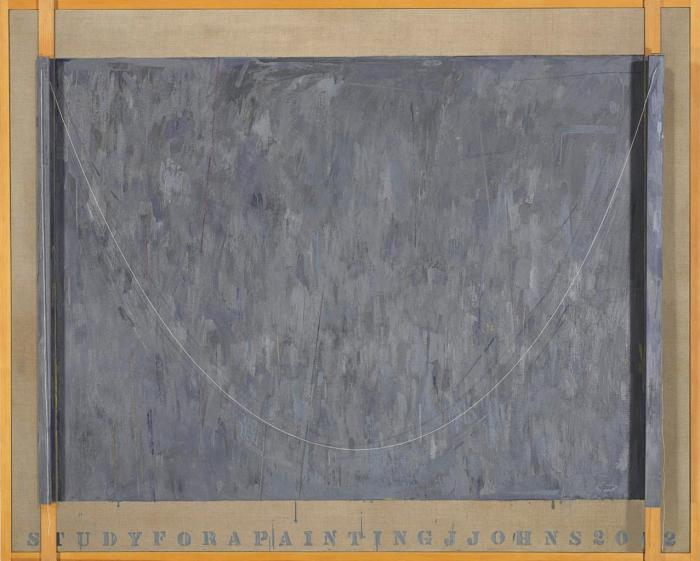 Jasper Johns-Study for a Painting-2002
