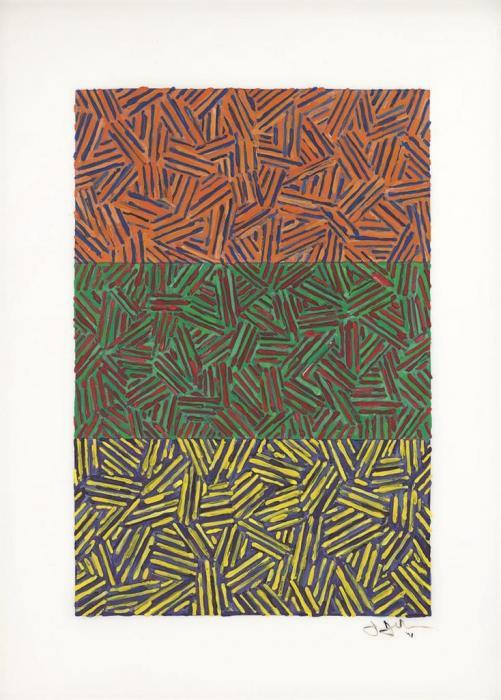 Jasper Johns-Untitled-1978