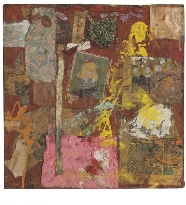 Robert Rauschenberg-Robert Rauschenberg - Untitled-1954
