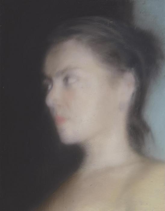 Gerhard Richter-Kopf (Skizze) / Head (Sketch)-1997