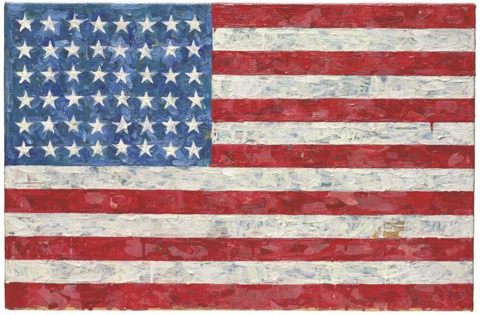Jasper Johns-Flag-1966