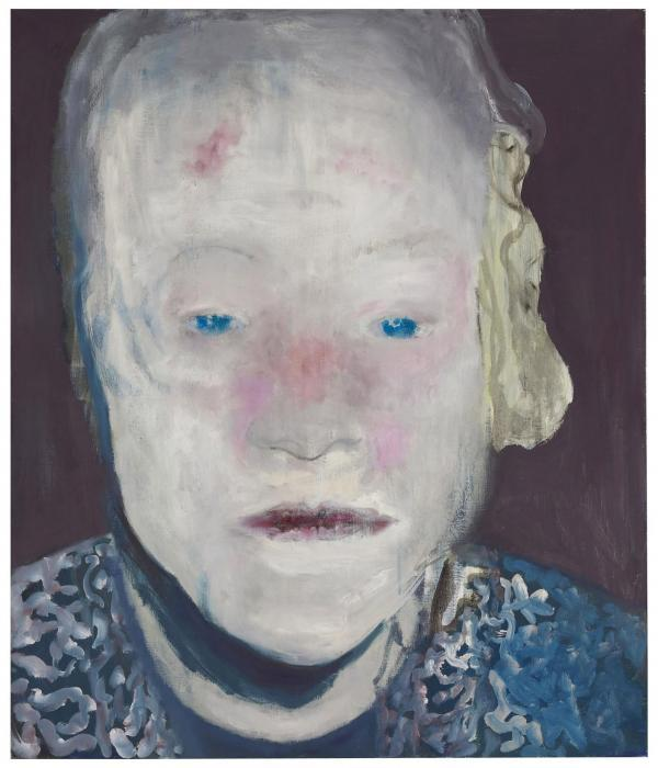 Marlene Dumas-The White Disease-1985
