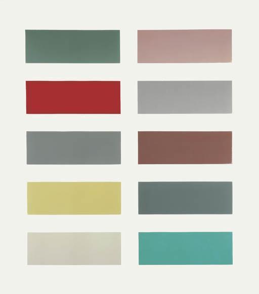 Gerhard Richter-Zehn Farben (Ten Colours)-1966