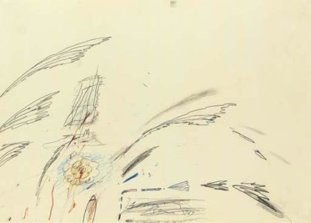 Cy Twombly-Roma-1963