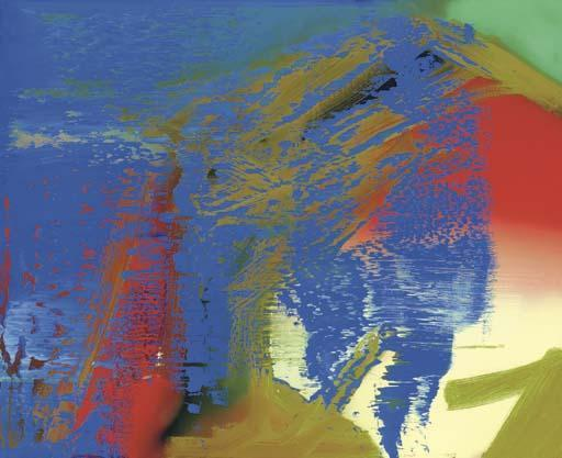 Gerhard Richter-Abstraktes Bild  456-2 (Abstract Painting 456-2)-1980
