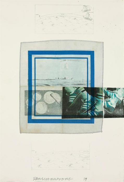 Robert Rauschenberg-Robert Rauschenberg - Untitled-1979