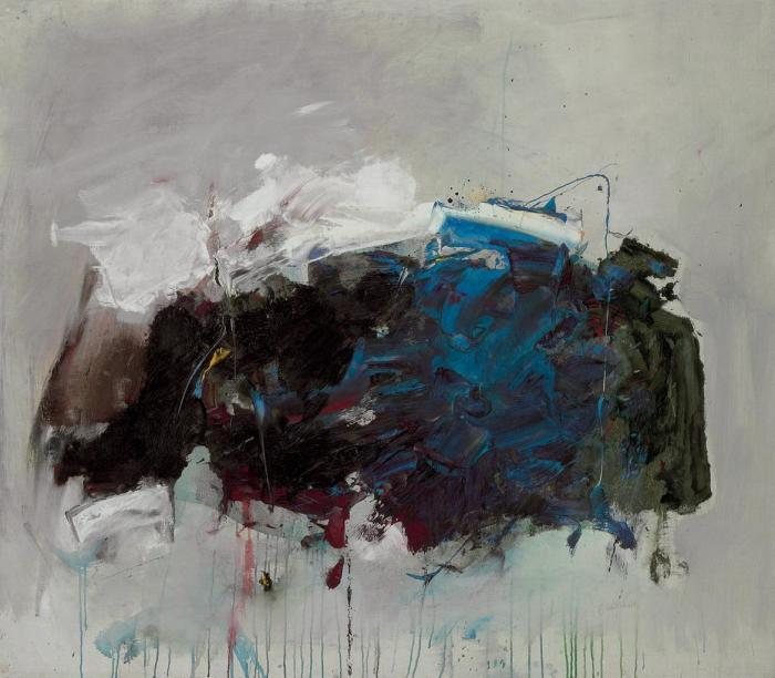 Joan Mitchell-Rufus' Rock: Mistral-1965