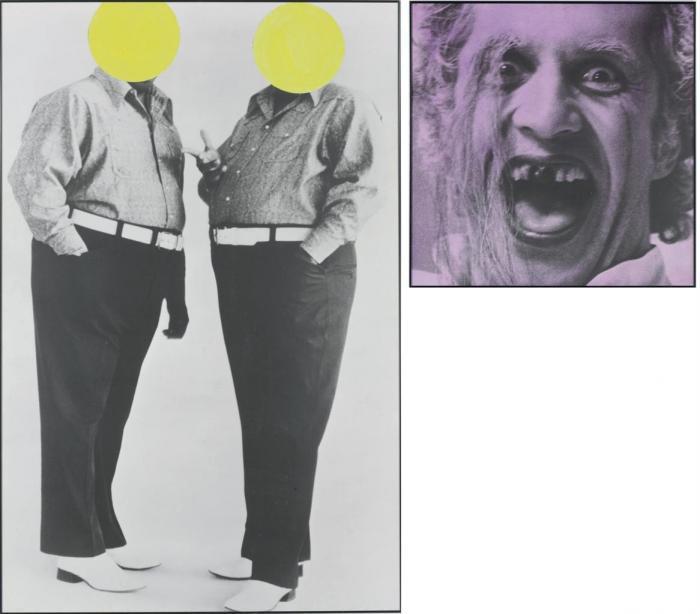 John Baldessari-Cruelty and Cowardice (With Malice)-1989