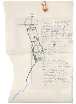 Marcel Duchamp-Pendu Femelle (Female Hanged Body)-1913