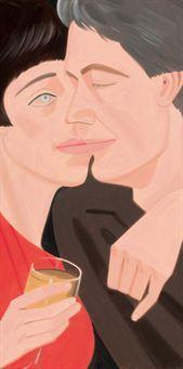Alex Katz-Jennifer and Matheiu-1986