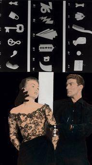 John Baldessari-Couple (with Objects)-1984