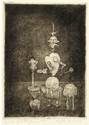 Roy Lichtenstein-Knight on Horseback (II)-1950