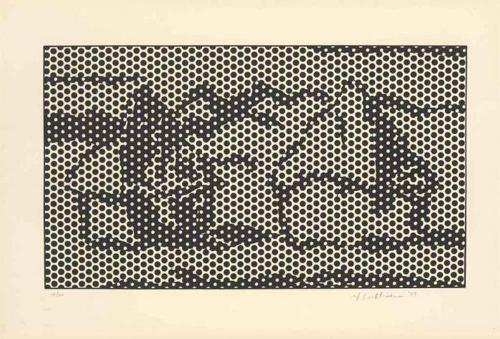 Roy Lichtenstein-Haystack #7-1969