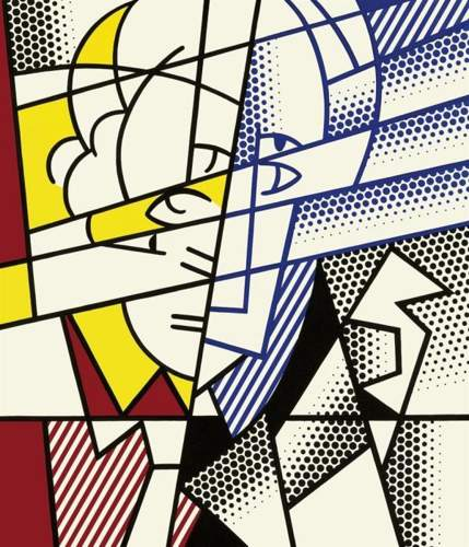 Roy Lichtenstein-Self-Portrait-1976