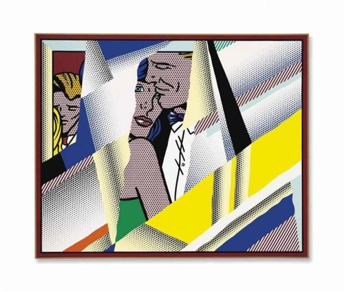 Roy Lichtenstein-Reflections on the Prom-1990