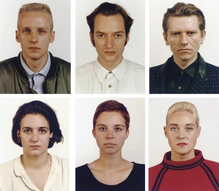 Thomas Ruff-Portrait-1986