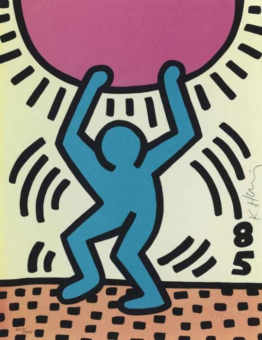 Keith Haring-Keith Haring - International Youth Year-1985