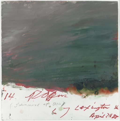 Cy Twombly-14 Papers-1983