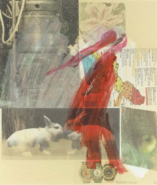 Robert Rauschenberg-Robert Rauschenberg - Rabbits-1986