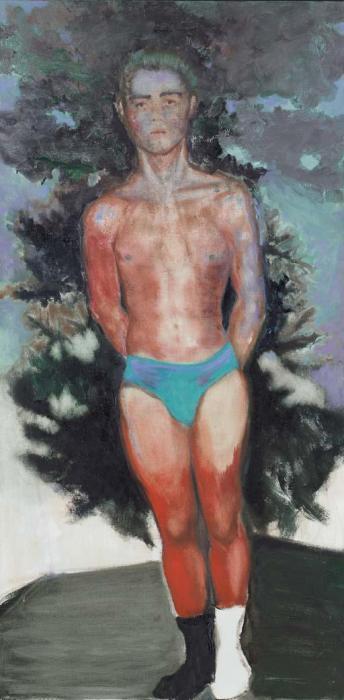 Marlene Dumas-The Annunciation-1988