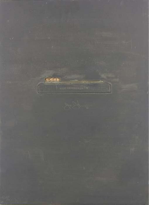 Jasper Johns-The Critic Smiles, from Lead Reliefs (Universal Limited ArtEditions 73)-1969