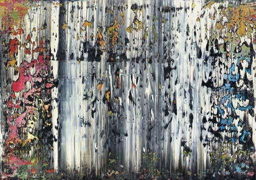 Gerhard Richter-Abstraktes Bild 708-2 (Abstract Painting 708-2)-1989