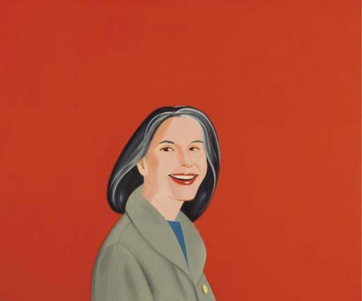 Alex Katz-Ada in Red 1-1993