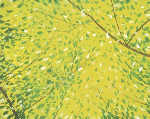 Alex Katz-Yellow Morning-1995