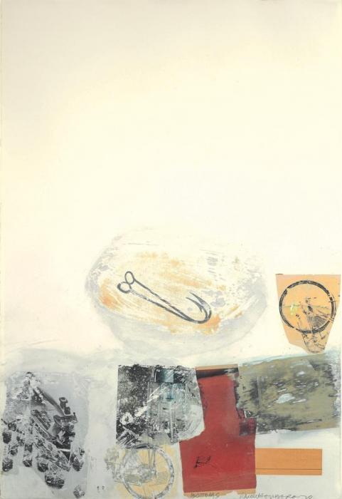 Robert Rauschenberg-Robert Rauschenberg - Bottoms (Syn-Tex Series)-1970