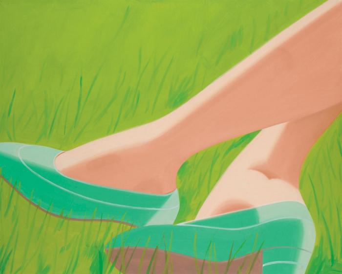 Alex Katz-Green Shoes-1987