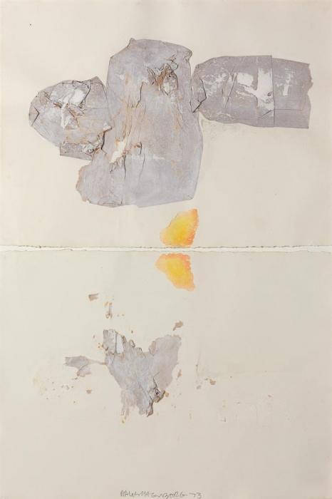 Robert Rauschenberg-Robert Rauschenberg - Early Egyptian Series-1973