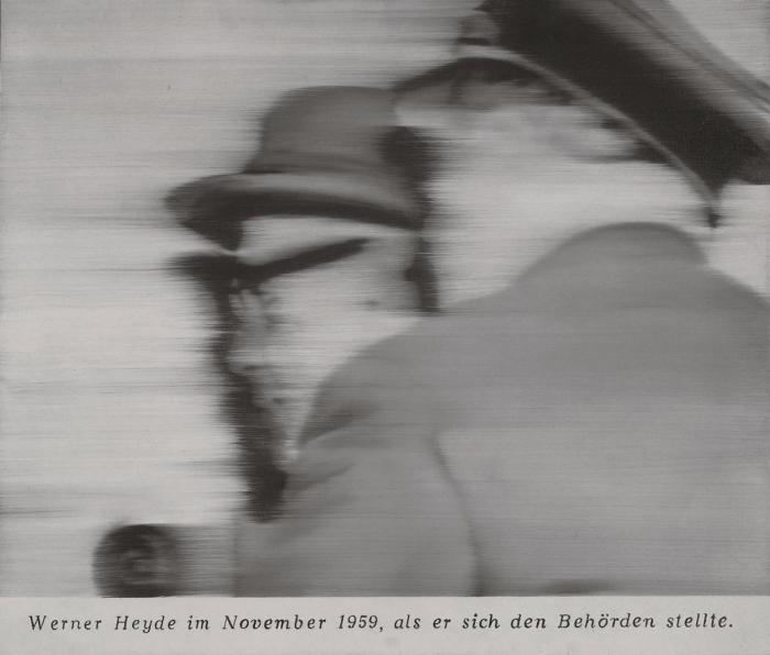 Gerhard Richter-Herr Heyde (Mr. Heyde)-2001