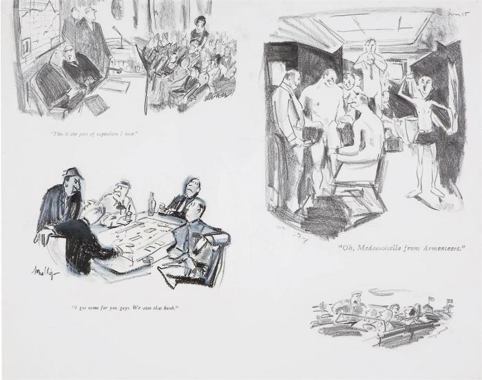 Richard Prince-Four Cartoons-1985