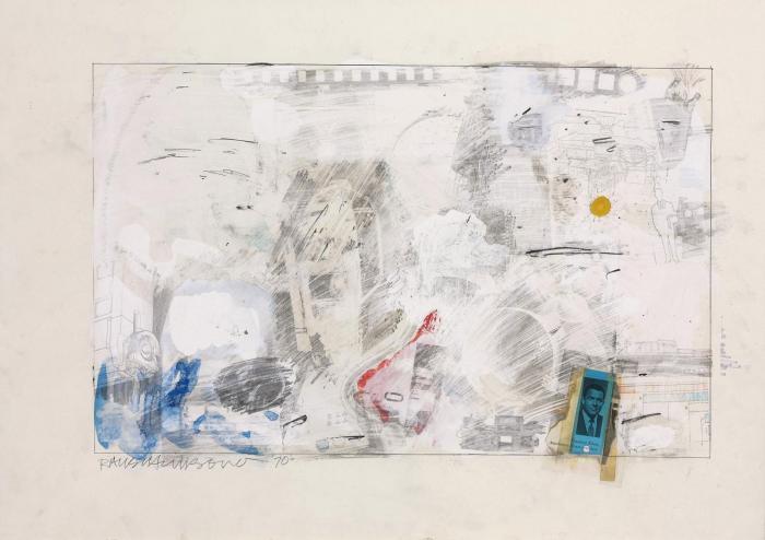 Robert Rauschenberg-Robert Rauschenberg - Untitled-1970