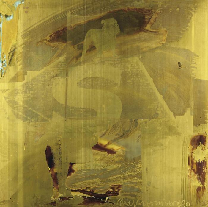 Robert Rauschenberg-Robert Rauschenberg - First Step (Borealis)-1990