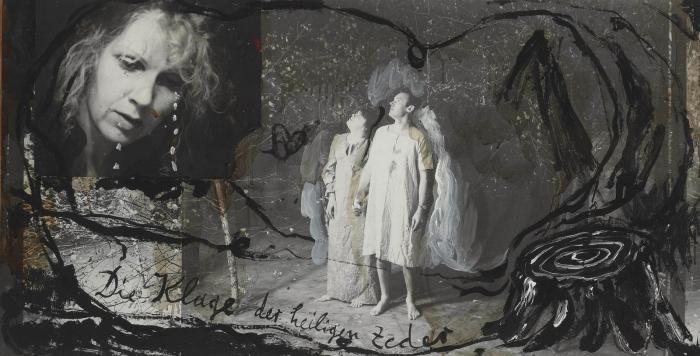 Anselm Kiefer-Die Klage der Heiligen Zeder (The Lament of the Sacred Cedars)-1981