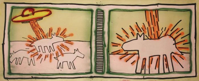 Keith Haring-Keith Haring - Untitled-1980