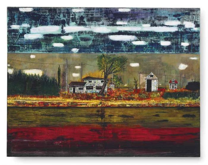 Peter Doig-Road House-1991
