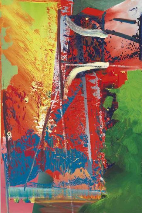 Gerhard Richter-Abstraktes Bild 593-10 (Abstract Painting 593-10)-1986
