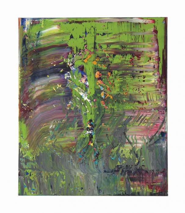 Gerhard Richter-Abstraktes Bild 703-6 (Abstract Painting 703-6)-1989