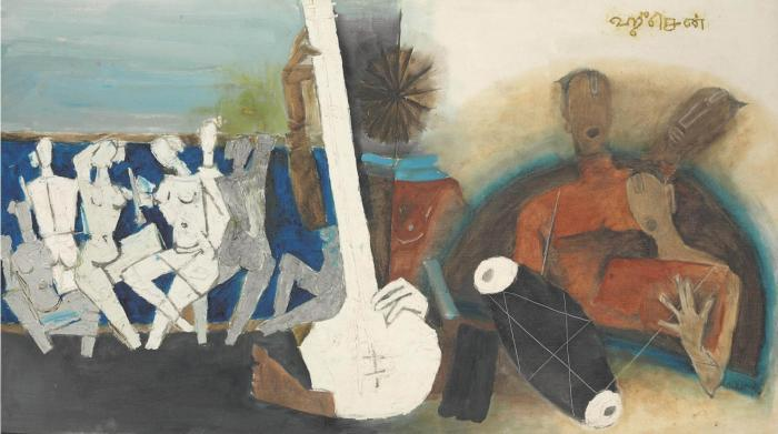 Maqbool Fida Husain-Untitled-1960