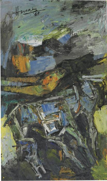 Maqbool Fida Husain-Untitled-1967