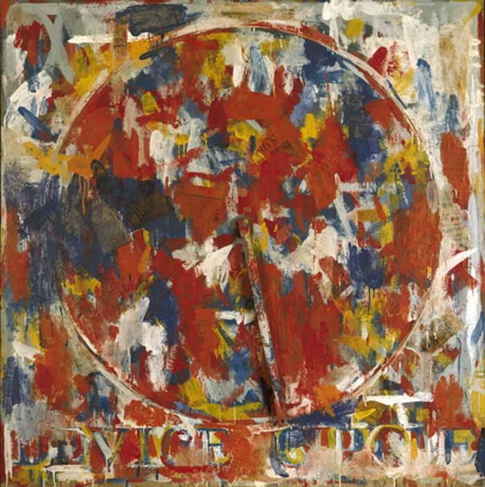 Jasper Johns-Device circle-1959