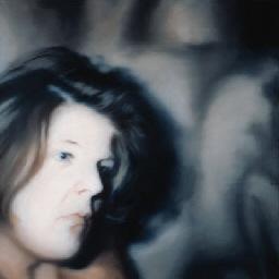 Gerhard Richter-Brigid Polk (305)-1971
