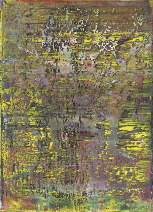 Gerhard Richter-Abstraktes Bild 721-1 (Abstract Painting 721-1)-1990