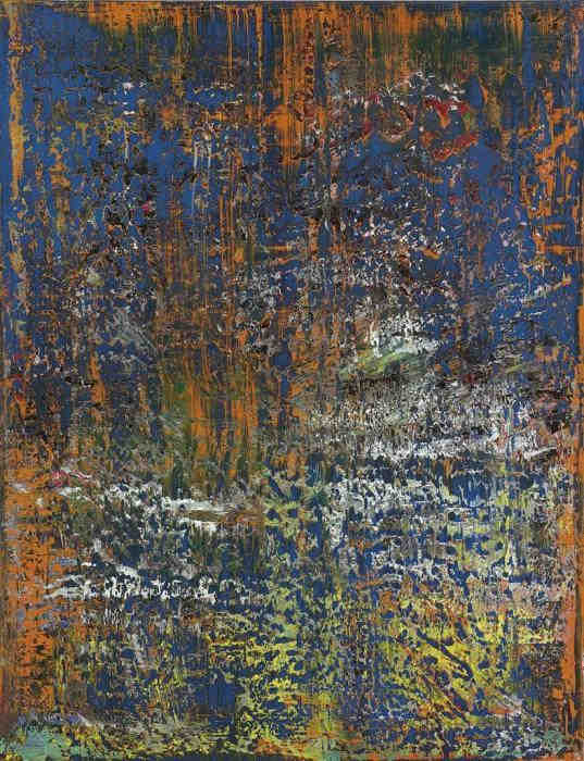 Gerhard Richter-Abstraktes Bild 710 (Abstract Painting 710)-1989